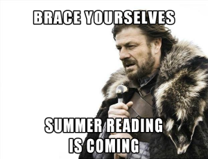 summer reading meme game of thrones